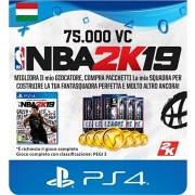 75,000 VC NBA 2K19 - PS4 HU Digital