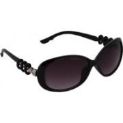 Pede Milan Oval Sunglasses(Violet)