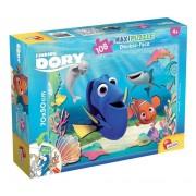 Puzzle maxi 2 in 1 - Finding Dory, Dory emotionata, 108 piese