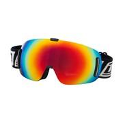 FRAMELESS Ski Goggles: Dirty Dog 'BLIZZARD' Ski/Snowboard Goggles - Red Fusion