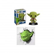 Funko Pop Set 2 Yoda Lámpara Vinyl Star Wars Jedi