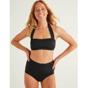 Boden Schwarz Santorini Bikinioberteil Damen Boden, 46, Black