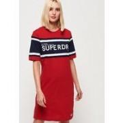 Superdry T-shirtklänning med färgblock