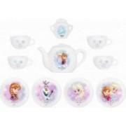 Set de servit ceaiul din portelan Smoby Frozen cu 12 accesorii