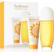 Elizabeth Arden Sunflowers lote de regalo II. eau de toilette 100 ml + leche corporal 100 ml