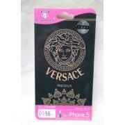 Folie protectie cu design Iphone 5 Versace( fata + spate )
