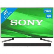 Sony KD-49XG9005 + Soundbar