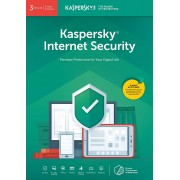 Kaspersky Internet Security 2020 3 User Multi Device 1 Year Download PC/Mac