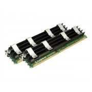 Kingston - DDR2 - 4 Go: 2 x 2 Go - FB-DIMM 240-pin - 667 MHz / PC2-5300 - CL5 - 1.8 V - Pleinement mémorisé - ECC - pour Apple Mac Pro