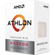 Procesor AMD Athlon™ 240GE, Radeon Vega Graphics, Dual Core, 3.5GHz, Socket AM4, Box