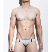 Mategear Ran Kwang Flat Front Reduced Sides Series II Extremely Sexy Mini Boxer Brief Underwear Aquamarine 1091202