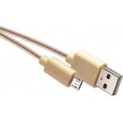 USB 2.0 kábel multi 1m arany színű SM7006Y