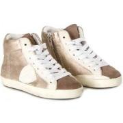 Philippe Model High Sneakers Bronze