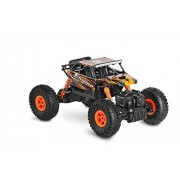 Jjx-Tech Szjjx Rc Cars Rock Off-Road Vehicle Crawler Truck 2.4Ghz 4Wd High Speed 1:18 Radio Remote Control Racing Electric Fast Race Buggy Hobby Car-Orange