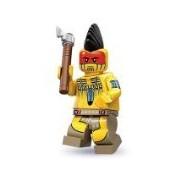 Lego Series 10 Tomahawk Warrior Mini Figure