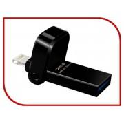 USB Flash Drive 128Gb A-Data i-Memory AI920 Lightning to USB 3.1 Black AAI920-128G-CBK