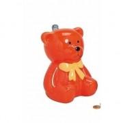 Merkloos Spaarpot oranje teddybeer 20 cm