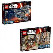 LEGO Star Wars Battle on Takodana 75139 and StarScavenger 75147 Bundle