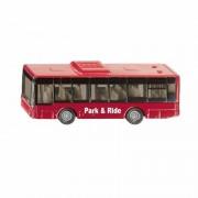 Merkloos Set van 2x Kinder speelgoed stadsbussen/lijnbussen