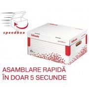 Container de arhivare cu capac S Speedbox Esselte