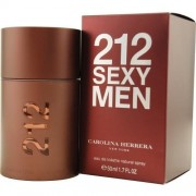 Carolina herrera 212 sexy men eau de toilette 50 ml spray