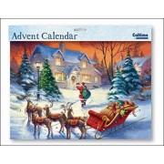 Caltime Landscape Advent Calendar (Wdm0432) - Special Delivery Glitter Varnished