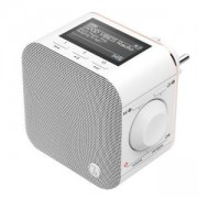 Цифрово радио Hama DR40BT-PlugIn, FM/DAB/DAB+/Bluetooth, бял, HAMA-54871
