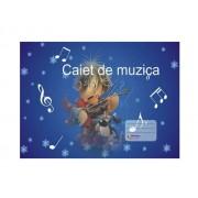 CAIET MUZICA 24 FILE, COPERTA POLICROMIE Clasele 5-8 24 file Caiet Muzica Muzica