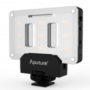 Aputure AL-M9 video portatil LED de luz de relleno - Negro