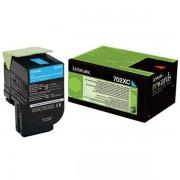 Lexmark 70C2XC0 - 702XC toner cian