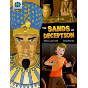 Project X Origins Graphic Texts: Dark Blue Book Band, Oxford Level 16: The Sands of Deception, Paperback/Elen Caldecott