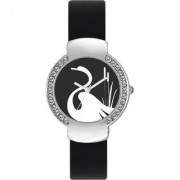The Shopoholic Designer Black Swan Dial Awesome Analog Watches For Women-Watches For Girls Stylish