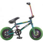 Rocker Mini BMX Bike Rocker 3+ Crazymain Jet Fuel Freecoaster (Neochrome)