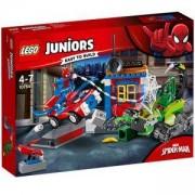 Конструктор Лего Джуниърс - Spider-Man vs. Scorpion – улична схватка, LEGO Juniors, 10754