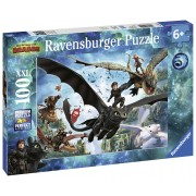 PUZZLE DRAGONS III, 100 PIESE - RAVENSBURGER (RVSPC10955)