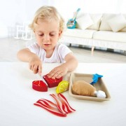 Hape Early Learning Wooden Tasty Proteins Fish and Fleischset Play Set 3 years + Hape