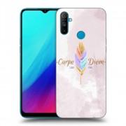 Átlátszó szilikon tok az alábbi mobiltelefonokra Realme C3 - Carpe Diem
