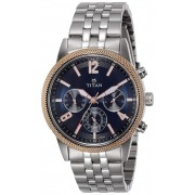 Titan Neo Analog Blue Dial Men's Watch-NK1734KM01