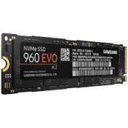 SSD M.2, 1000GB, Samsung 960 EVO, NVMe M.2 PCIe 3.0x4 (MZ-V6E1T0BW)