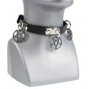 Kratka ogrlica Pentagram - LSF9 03