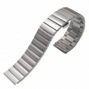 Curea metalica compatibila Huawei Watch GT telescoape Quick Release 17cm Argintiu
