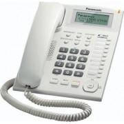 Panasonic Kx-Ts880exw Telefono Fisso A Filo Vivavoce Display Lcd Installabile A Muro Colore Bianco - Kx-Ts880exw