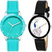 TRUE CHOICE NEW SUPER FAST SELLING AND BRAND ANALOG COMBO WATCH FOR WOMEN AND GIRL WITH 6 MONTH WARRNTY