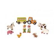 Janod Mini Story - Farm Playset
