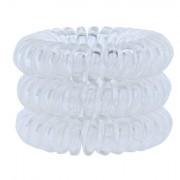 InvisiboBBle Power Hair Ring gumice za kosu 3 kom nijansa Crystal Clear