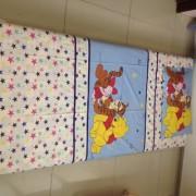 Imaginations By Kuntal'S Winnie-Multi Star Single Bedsheet Set