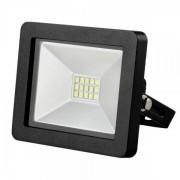 Solight LED venkovní reflektor SLIM, 10W, 700lm, 3000K, černý SOLIGHT WM-10W-G