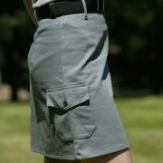 Spódnica ZHP szara, mundurowa, harcerska