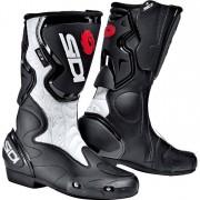 Sidi Motorradstiefel lang Motorradschuhe Fusion Lei Damen Stiefel schwarz/weiß 40 weiß