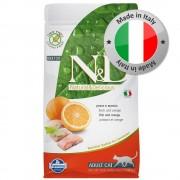 N&D Grain Free Cat Farmina N&D Grain Free Adult Cat Pesce e Arancia - 5 kg
